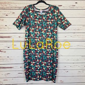 EUC LuLaRoe Julia Midi Dress